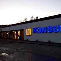 Photo taken at Mustvee Konsum by Irena I. on 5/4/2014