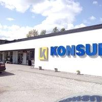 Photo taken at Mustvee Konsum by Irena I. on 5/21/2014
