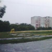 Photo taken at Зупинка «вул. Димитрова» by Diana K. on 6/24/2014