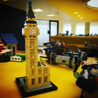 Photo taken at LEGO Office London by James P. on 3/10/2016