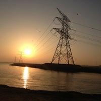 Photo taken at Yas Island Beach by lissy l. on 10/27/2012
