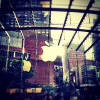 Photo taken at Apple Upper West Side by Chris B. on 10/20/2012