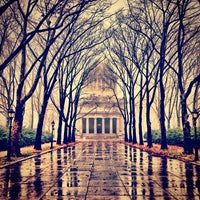 Photo taken at General Grant National Memorial (Grant's Tomb) by Chris B. on 12/10/2012
