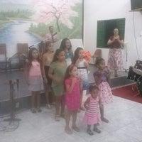 Photo taken at Igreja Batista Pentecostal by Murilo P. on 2/26/2014