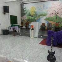 Photo taken at Igreja Batista Pentecostal by Murilo P. on 6/27/2014