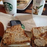 Photo taken at Starbucks by Fernanda V. on 8/27/2014