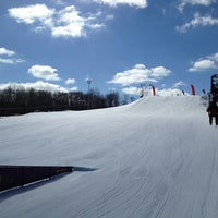 Photo taken at Cannonsburg Ski Area by Nicholaas W Z. on 3/3/2013