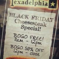 Photo taken at Texadelphia by Dey B. on 11/23/2012