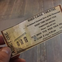 Photo taken at The Original Bird Cage Theatre Of Tombstone by Robert P. on 10/2/2017