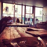 Photo taken at Kitsuné Espresso Bar Artisanal by Francois R. on 8/12/2013