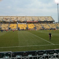 Photo taken at MAPFRE Stadium by Levar B. on 6/15/2013