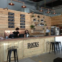 Photo taken at Rocks Brewing Co by Paul F. on 2/23/2014