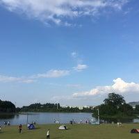 Photo taken at 大学城中心湖 by Strong Z. on 9/17/2016