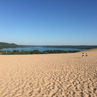Photo taken at Dune Climb - Sleeping Bear Dunes by Ryan S. on 7/25/2015