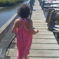 Photo taken at Graef Boat Yard Inc by Kristina R. on 9/7/2015