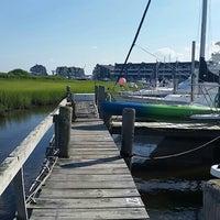 Photo taken at Graef Boat Yard Inc by Kristina R. on 7/24/2015