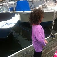 Photo taken at Graef Boat Yard Inc by Kristina R. on 7/16/2014