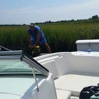 Photo taken at Graef Boat Yard Inc by Kristina R. on 8/5/2014