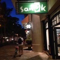 Photo taken at Sanuk Waikiki by Bong K. on 7/31/2014