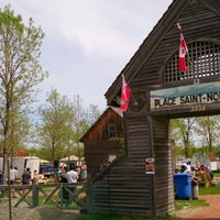Photo taken at Le Marché St. Norbert Farmer's Market by Dima M. on 5/31/2014