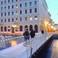 "Photo taken at Passaggio Joyce ""Ponte curto"" by Alex K. on 3/26/2013"