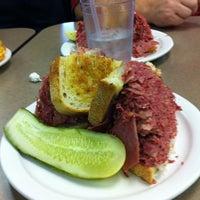 Photo taken at Slyman's Restaurant by Adam B. on 12/14/2012