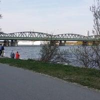 Photo taken at Handelskai/Donau by Maral G. on 3/22/2014