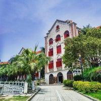 Photo taken at Xiamen University Café by Derek L. on 4/1/2016