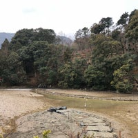 Photo taken at 小倉池 by いぬマン on 2/10/2018