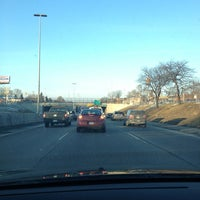 Photo taken at Southfield Fwy by Stephen on 1/7/2013