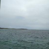 Photo taken at Penguin Island Ferry by Farra K. on 10/15/2013