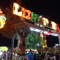Photo taken at Akçay Lunapark by Tolga S. on 6/27/2015