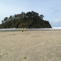 Photo taken at Neskowin State Beach by Anita A. on 3/30/2014