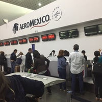 Photo taken at Sky Priority Check In Aeromexico by Rocío D. on 7/1/2017