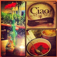 Photo taken at Ciao! Vino & Birra by Simone A. on 3/3/2013