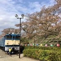Photo taken at 電気機関車EF64 18 by wataru on 4/5/2018