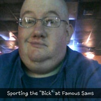 Photo taken at Famous Sam's by Jeffrey S. on 3/11/2014