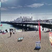 Photo taken at Brighton Pier by Steven G. on 7/29/2013
