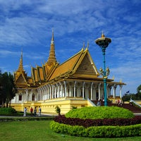 Photo taken at Royal Palace, Phnom Penh by Angkor World Tours on 12/9/2013