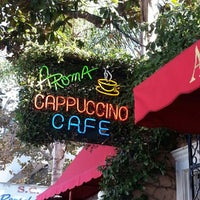Photo taken at Aroma Coffee and Tea Co. by Melody L. on 9/30/2012