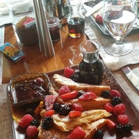 Photo taken at Westbank Grill at Four Seasons Resort Jackson Hole by Nada f. on 10/19/2015