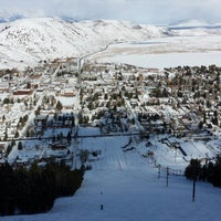 Photo taken at Snow King Ski Area and Mountain Resort by Anthony T. on 1/31/2014