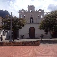 Photo taken at Parroquia Nuestra Señora De Las Aguas by Johanna L. on 1/21/2014