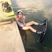 Photo taken at Wake & Roll Park by Diaana on 7/24/2016