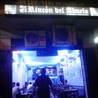 Photo taken at El Rincon Del Abuelo by José H. on 10/28/2012