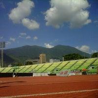 Photo taken at Estadio Olímpico Universitario by José H. on 11/18/2012