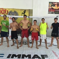 Photo taken at Fight Center Team by Hugo L. on 11/12/2015