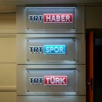 Photo taken at TRT Haber Ve Spor Dairesi Başkanlığı by Özgür Ö. on 1/31/2016