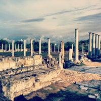 Photo taken at Salamis Ruins by Māris T. on 10/26/2012