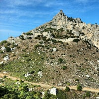 Photo taken at Saint Hilarion Castle by Māris T. on 11/2/2012